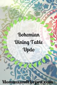 Bohemian Dining Room by Blog Archive Bohemian Dining Table Updo