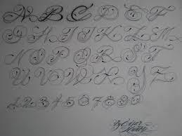 tattoo lettering script alphabet professional tattoo books