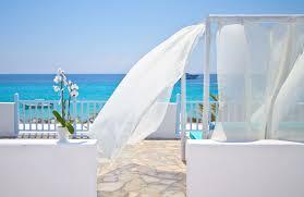 luxury mykonos beach hotels on platis gialos beach mykonos