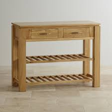 Storage Console Table by Console Tables 100 Solid Hardwood Oak Furniture Land