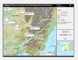 Wildfire Map National by Dry Lightning Sparks Two Wildfires In Lake Clark National Preserve