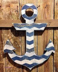 wooden anchor wall shining design large anchor wall decor wood metal modern