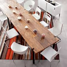 Modern Rustic Dining Room Table Rustic Modern Round Up Reclaimed Railroad Tie Furniture Rustic