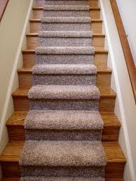 decoration beautiful carpet runners for stairs with wood