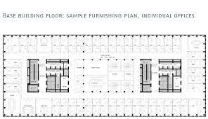 floor plan for office building main tower zürich