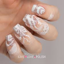 live love polish unt sand castle swatch watermarble nail art