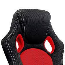 fauteuil de bureau sport racing chaise de bureau sport fauteuil siege baquet et noir