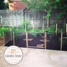 Diy Garden Fence Ideas Building A Garden Fence Salmaun Me