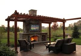 rustic outdoor living room ground one