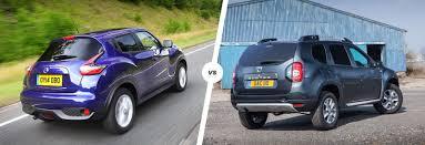renault duster 2017 colors nissan juke vs dacia duster u2013 budget suv battle carwow