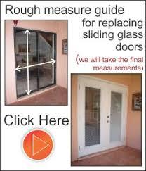 fiberglass sliding glass doors how to measure for replacing or cutting your doors