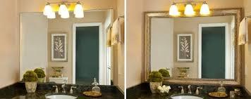 Framed Mirrors Bathroom Interesting 80 Large Framed Bathroom Wall Mirrors Design Ideas Of