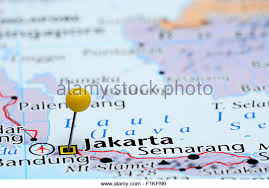 on a map map of jakarta stock photos map of jakarta stock images alamy