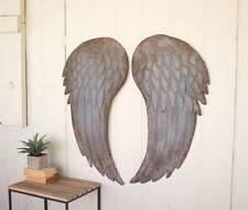 Angel Wing Wall Decor Lodge Metal Wall Sculptures Ebay