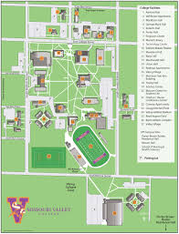 Viking Map Missouri Valley College