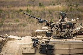 bureau com m1a1 abrams mbt engages a target strategic bureau of information