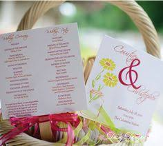 Diy Wedding Program Fans Kits Diy Wedding Program Fans Kit With Design Template Cathys Concepts