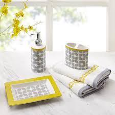 intelligent design lita 5 piece bath accessory set