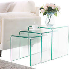 glass table for living room modern coffee table ebay