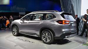 subaru suv concept subaru ascent shown more production ready in ny