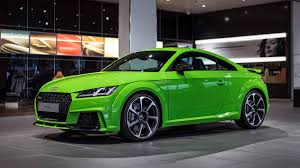 lime green aston martin 2016 audi tt rs gets lime green treatment for the audi forum