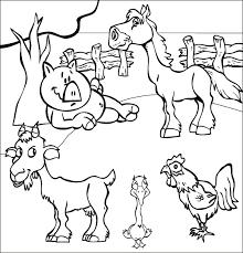 coloriages et dessins pour les enfants sur le thème chèvre