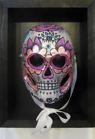 Day Of The Dead Mask Day Of The Dead Masks Claudia Olivos