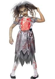 zombie bride bloody costume child zombie bride shoot
