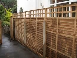 fence panels with trellis western red cedar trellis fence