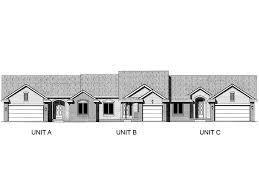 Multi Family House Plans Triplex Plan 031m 0022 Find Unique House Plans Home Plans And Floor