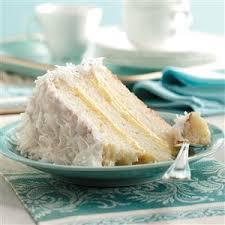 Coconut Cake Recipe Lemon Filled Coconut Cake Recipe Taste Of Home