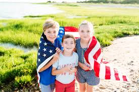 little island and the flag cape cod family photographer bree