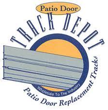 Patio Door Repairs Track Depot Patio Door Sliding Door Replacement Tracks