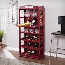 southern enterprises china cabinet southern enterprises phone booth bar cabinet w wine storage rich