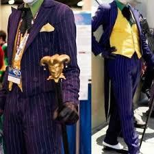 Batman Arkham Halloween Costumes Batman Arkham Asylum Dark Knight Rise Joker Tailcoat Cosplay