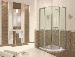 bathroom bathroom decorating ideas with glass shower cabin walls