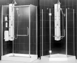 handicap walk in shower enclosures and stalls