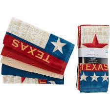 mainstays 5 piece texas kitchen towel set walmart com