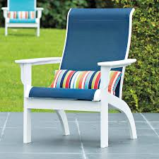 Landgrave Patio Furniture by Telescope Casual Adirondack Mgp Sling Lounge Chair Outdoor