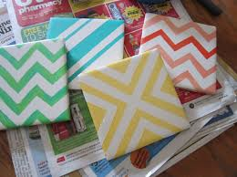 painting ceramic tiles craft interesting ideas for home