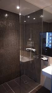 shower in the bathroom home design