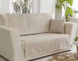 protege fauteuil canape protège fauteuil et canapé universels tissage natté becquet