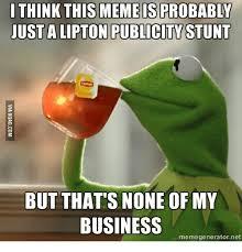 Tea Meme - 25 best memes about kermit iced tea kermit iced tea memes