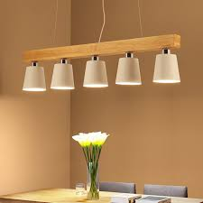 Wooden Pendant Lights Modern Pendant Lights For Living Room Dining Room Office White