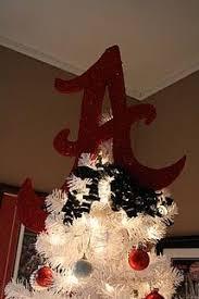 Alabama Football Home Decor Alabama Christmas Tree Love This Roll Tide Pinterest