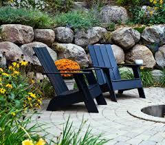 Adirondack Chairs Plastic Trex Outdoor Furniture Hd Patio Adirondack Chair In Charcoal Black