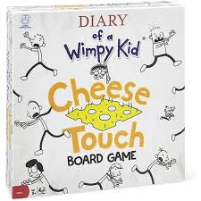 diary of a wimpy kid cheese touch game big w
