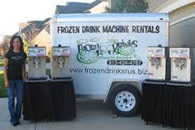 margarita machine rentals frozen drink machine rentals frozen drinks r us overland park ks