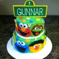 sesame street 1st birthday cake ideas 105265 sesame street