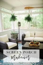 screen porch ideas u0026 makeover lynzy u0026 co